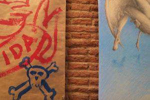 Exposición «Disolución del Objeto Preciado» (pared 5 fragmento)