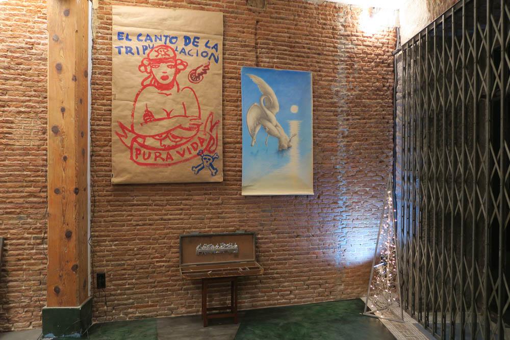 Exposición «Disolución del Objeto Preciado» (pared 5)