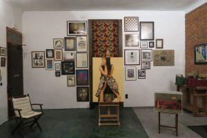 Exposición «Disolución del Objeto Preciado» (paredes 1 y 2)