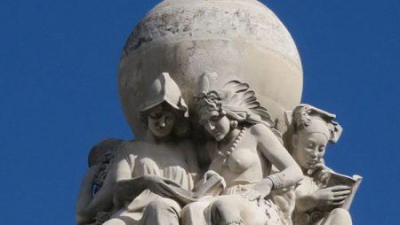 Luis Pita - Blog - Foto - Mas cerca de lo que parece (2017) Monumento a Cervantes - Plaza España