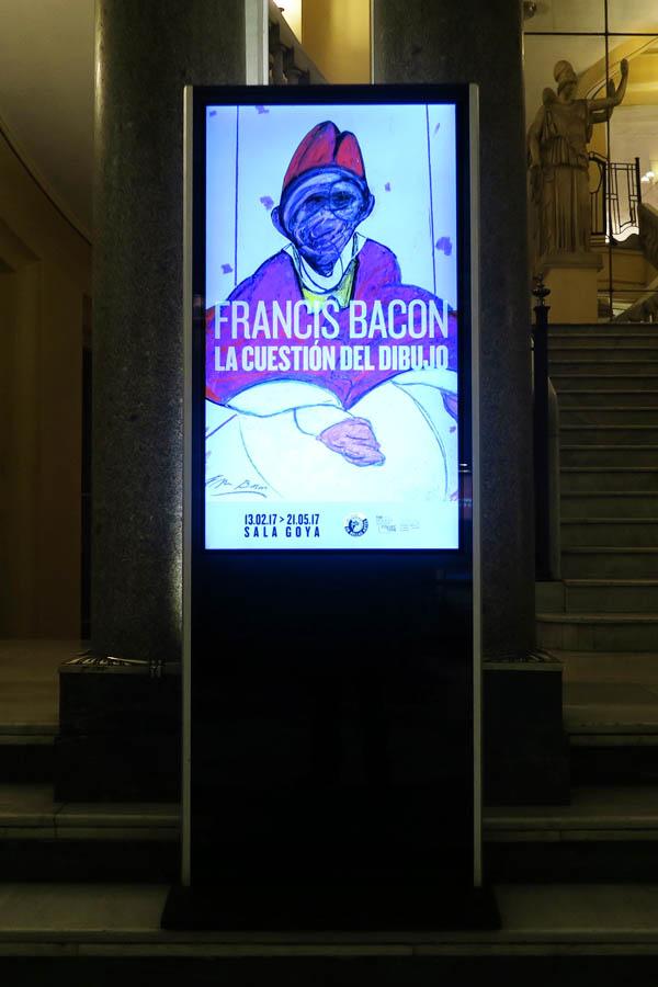 Expo FRANCIS BACON: LA CUESTIÓN DEL DIBUJO