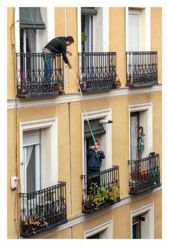 Confinados en Madrid, 002, ©Luis Pita Moreno