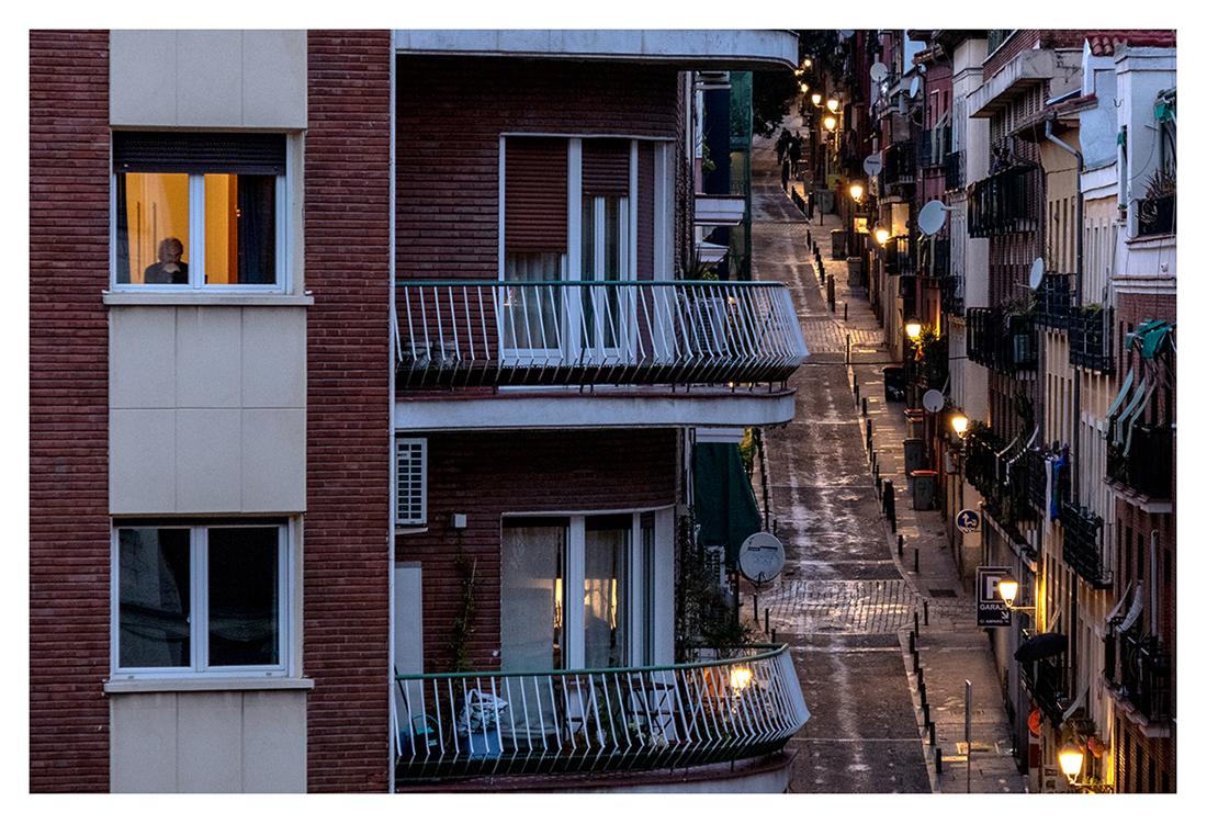 Confinados en Madrid, 004, ©Luis Pita Moreno