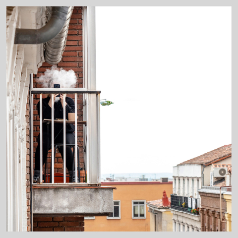 Confinados en Madrid, 008, ©Luis Pita Moreno