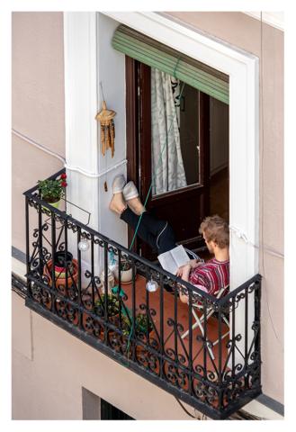 Confinados en Madrid, 010, ©Luis Pita Moreno