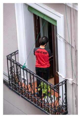 Confinados en Madrid, 012, ©Luis Pita Moreno