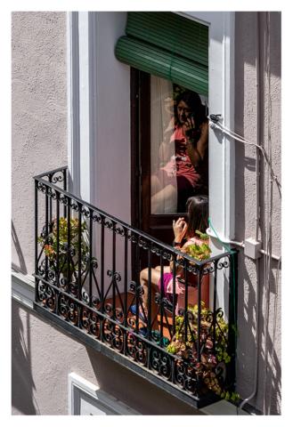 Confinados en Madrid, 015, ©Luis Pita Moreno