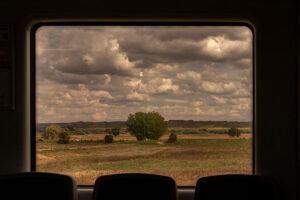 Luis Pita_ Desde un tren en movimiento